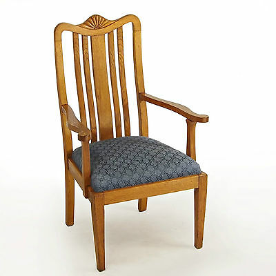Armchair / Chair - Oak, Art Deco, 1930s (delivery available)