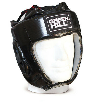 Casco Da Boxe Amateur Pugilato Green Hill  Boxing Head Guard Caschetto Aperto