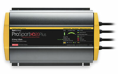 ProMariner ProSport Plus 20 Amp 3 Bank HD On-Board 12V Boat Battery Charger