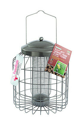 Gardman Birds Feeder Heavy Duty Squirrel Proof Peanut Wild Birds Care Patio 31cm