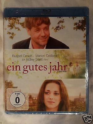 A Good Year [2006]d(Blu-ray Region-Free)~~~~Russell Crowe~~~~NEW & SEALED