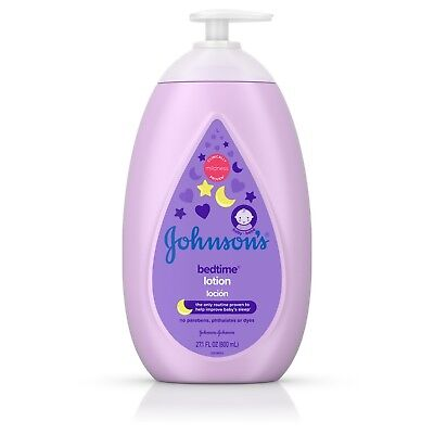 Johnson's Bedtime Baby Lotion with NaturalCalm Essences, 27.1 fl oz