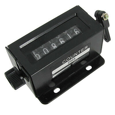 D94-S 0-999999 6 Digit Resettable Mechanical Pulling Counter T1
