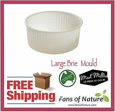 Large Brie Mould - Cheese Making by Mad Millie
