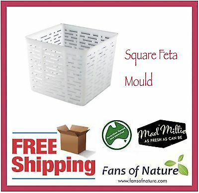 Square Feta Mould - Cheese Making by Mad Millie