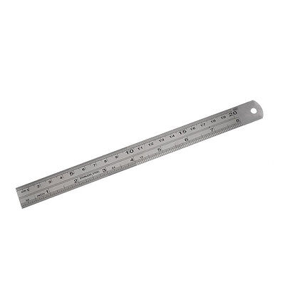Stainless Steel 20cm 8 Inch Metric Straight Ruler Measuring Tool T1