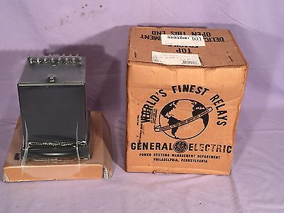General Electric Time Overcurrent Relay Inverse Time Instantaneous 12Ifc51Bd1A