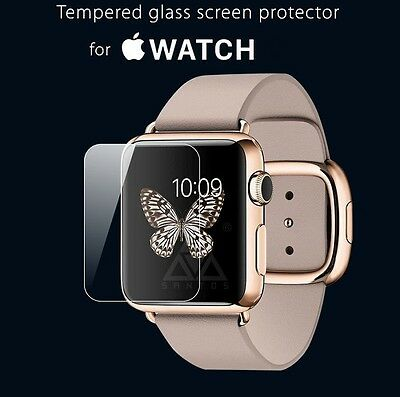 New 42mm Premium Real Tempered Glass Screen Film Protector For Apple Watch