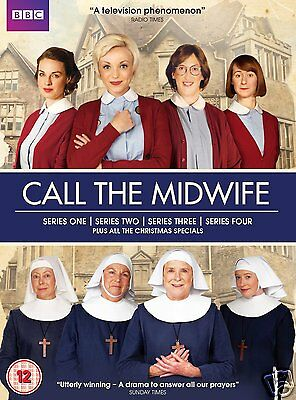Call the Midwife: Series 1-4 Boxset [BBC](DVD)~~~~Miranda Hart~~~~NEW & SEALED