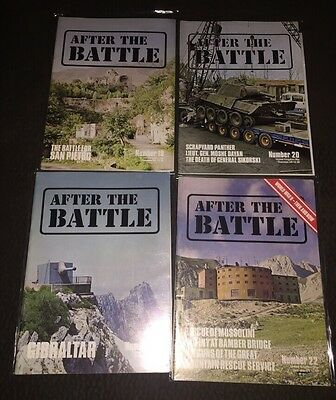 AFTER THE BATTLE WWII magazine lot Of 4- #18/20/21/22
