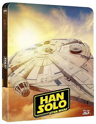 Solo: A Star Wars Story 3D (Blu-ray 3D+2D Region-Free)~~~STEELBOOK~~~NEW SEALED