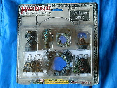 Mage Knight 3D Dungeons Artifacts set 2. NEW D&D mini RPG Castle terrain scenery