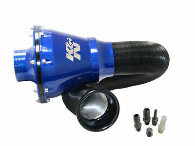 K&N Blue Apollo Universal Cold Air Intake Induction Kit With Air Box & Filter