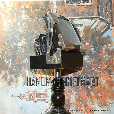 Beautiful Awesome Collectible WOODEN CAMERA With Beautiful Wooden Stand Vintage