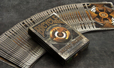 Ancient Machine Bicycle Deck Of Playing Cards By Collectable Magic Tricks