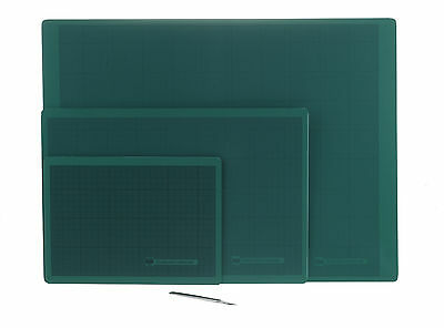 West Cutting Mat A4 Drawing Artwork Green 30x22cm High Quality New