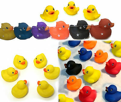 Baby Bath Toy Bathtime Rubber Duck Squeaky Water Play Fun Kids Activity Toddler