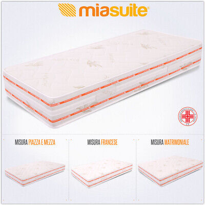 Materasso Top Air Relaxa Memory Waterfoam Rivestimento Aloe Vera 4Strati