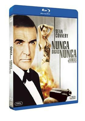 Never Say Never Again [1983]s(Blu-ray Region-Free)~~~~Sean Connery~~~~NEW SEALED