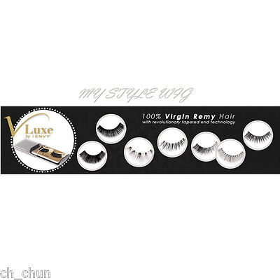 7ca03832f68 V-LUXE BY KISS I Envy 100% Virgin Remy Tapered End Strip Eyelashes ...