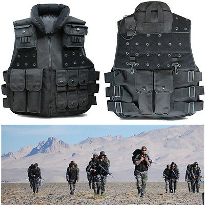 Military Airsoft Paintball Tactical Vest SWAT Combat CS Game Training Outwear