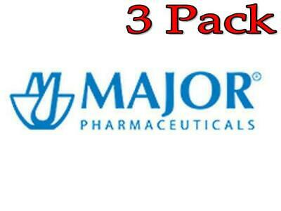 Major Diphenhydramine Capsules, 50mg, 100ct, 3 Pack 309042056618A425