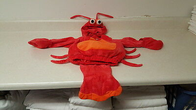 Lobster Costume Baby 12-24 Months Super Cute!