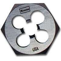 High Carbon Steel Hexagon 1' Across Flat Die 1/2'-20 NF