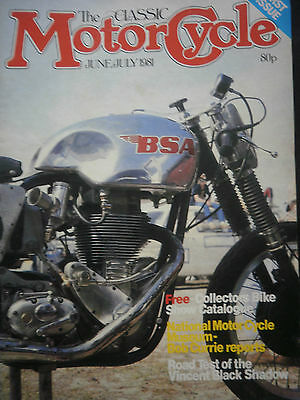 CLASSIC MOTORCYCLE MAGAZINE. ISSUE 1. feat 1947 HRD VINCENT ROAD TEST / ES2-M18