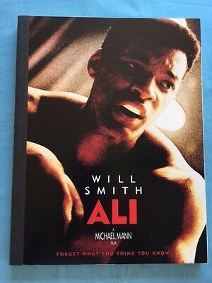 Ali - For Consideration Script Signed By Director Michael Mann