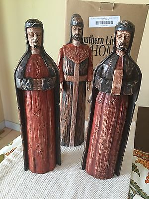 Southern Living At Home Santos 3 Wisemen w/ Box Christmas/Holiday