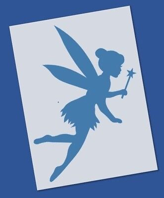 Reusable Mylar Tinkerbell Stencil Template for Crafting Canvas decor Wall art