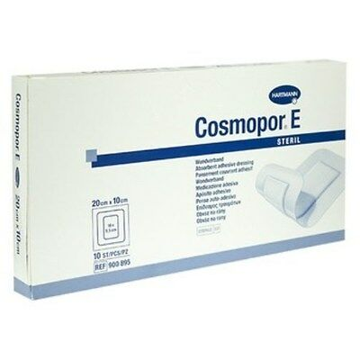 Cosmopor E Sterile Adhesive Wound Dressings 20cm x 10cm x 25 Surgical Cuts Burns
