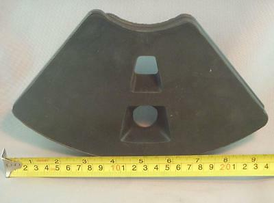 Genuine REED Concrete Pump WEAR PLATE p/n 10339 - Suits 21 Pocket Bowl