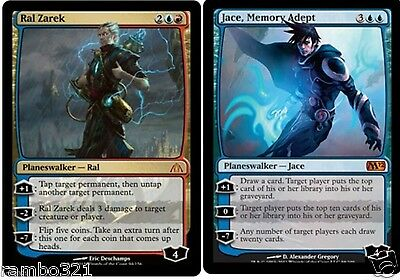Ral Zarek x1 & Jace, Memory Adept x1 + 20 Random Rares!MTG Great Gift for Anyone