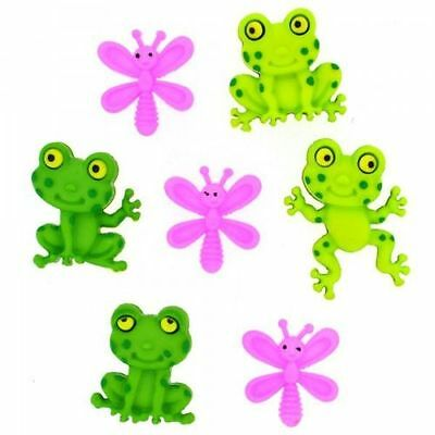 Dress it up Buttons, Happy frogs, Scrapbooking,  craft