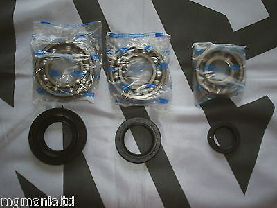 MGZR MG ZR PG-1 Gearbox Uprated Caged Bearing Set & Seal Kit mgmanialtd.com
