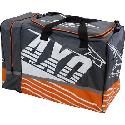 Axo NEW Mx Weekender Grey Orange Motocross Gearbag Luggage Dirt Bike Gear Bag