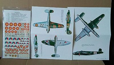 ESCI 48 Belgium & Holland, National Insignia 1/72 combined shipping decals