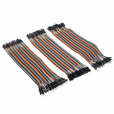120pcs Dupont Wire Male to Male + Female to Female + Male to Female Jumper Cable