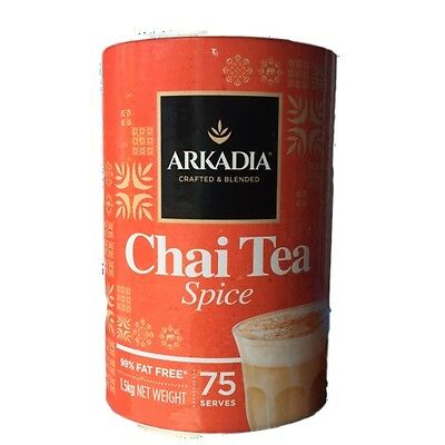Arkadia Chai Powder Spice in (1.5 ) kg (75 Serve)
