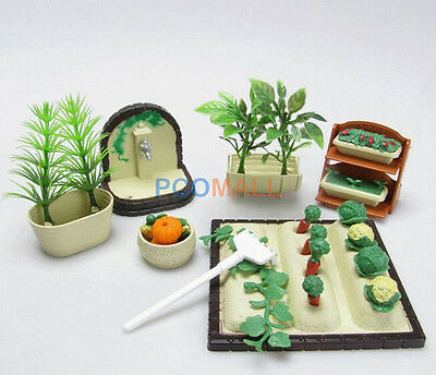 Miniature DollHouse Furniture Gardening Vegetables set for Sylvanian Families