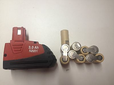 1 kit battery batterie bateria hilti SFB 121 😜 4Ah no box only 1 pack 10 cells