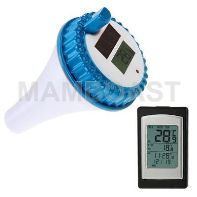 Wireless Indoor and Outdoor Solar Power Pool Thermometer