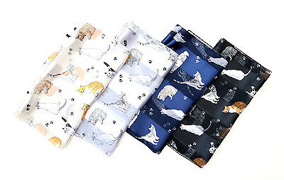 Cat print scarf , Cat collection by Kongle