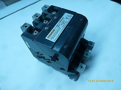 Siemens 40IP107785UX499 Resistive Heating Contactor 600VAC 160A 099044 New