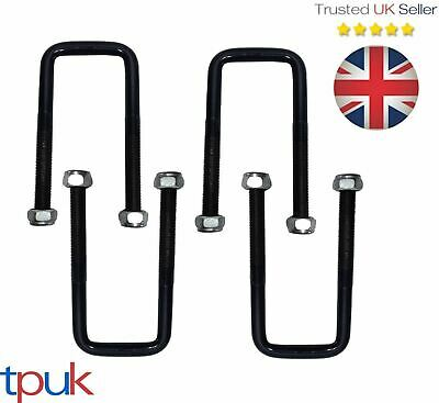 Ford Transit Leaf Spring U Bolt 1986-2000 Mk3 Mk4 Mk5 Full Set Of 4 - 3/4 Leaf