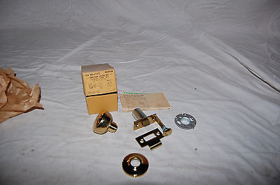 Vintage Dexter Hardware Friction Brass Door Knob Set.  In Original 6 Available