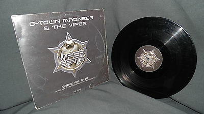 """Hardcore 12"""" G-Town Madness & The Viper - Come As One Project Hardcore Anthem"""