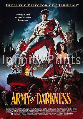 Army of Darkness Movie Film Poster A2 A3 A4